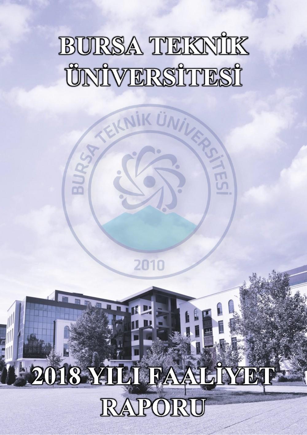 Üniversitemiz 2018 Yılı Faaliyet Raporu